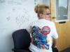 "Nancy Jo Garder, Larry ""Spiderman"" McBride Shirt"
