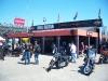 Harley NHRA display