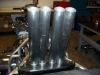 Larry McBride Top Fuel Motorcycle Exhaust Pipes