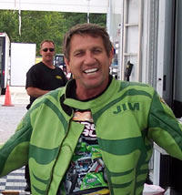 Jimmy Brantley spent most of his Top Fuel Motorcycle career smiling.