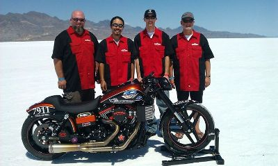 hiro koiso's fxd becomes worlds fastest street legal harley
