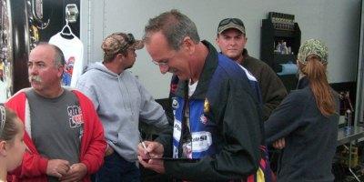 Larry McBride autograph