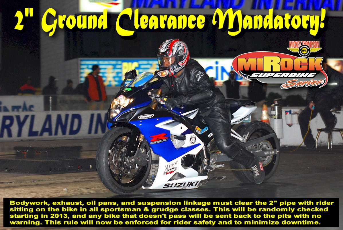 MIROCK Ground Clearance Rule and Enforcement Tool – Dragbike News