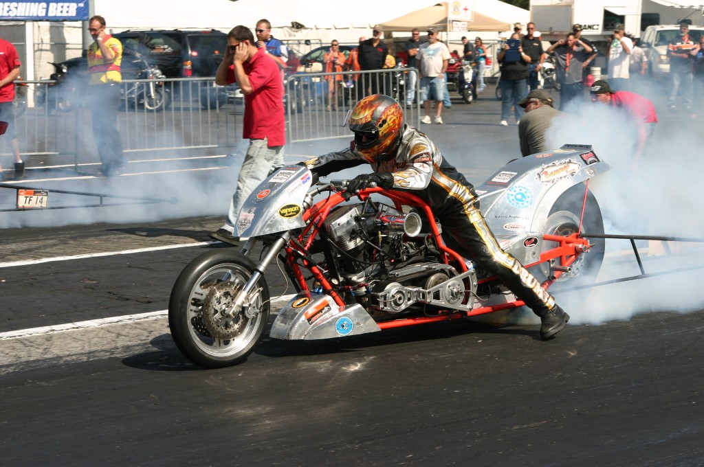 Larry Brancaccio Top Fuel Harley