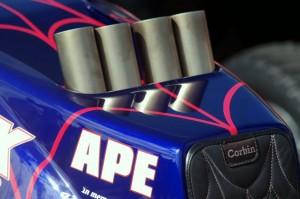 APE Larry McBride Top Fuel Motorcycle