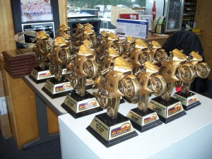 Dragbike Fall Nationals 2013 Trophies