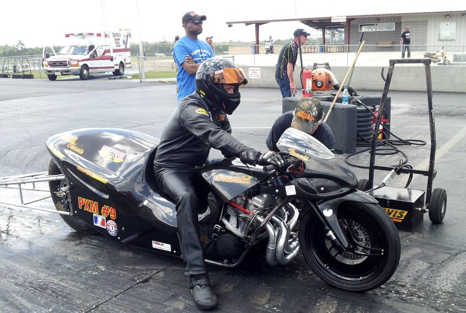 Timblin Chassis Describes the Framework for Motorcycle Drag Racing ...