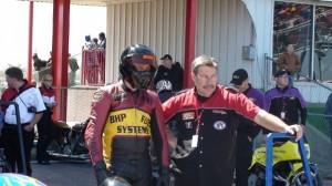 Walt Timblin, Travis Davis Dragbike racing