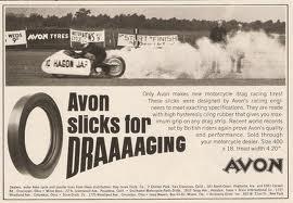 Avon Motorcycle Drag Slicks
