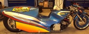 Jerry Cooper Suzuki Pro Mod