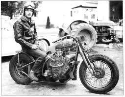 Vintage v-8 Drag Bike