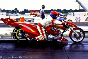 Ronnie Johnson Dragbike