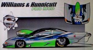 Williams and Hunnicutt Pro Mod Car