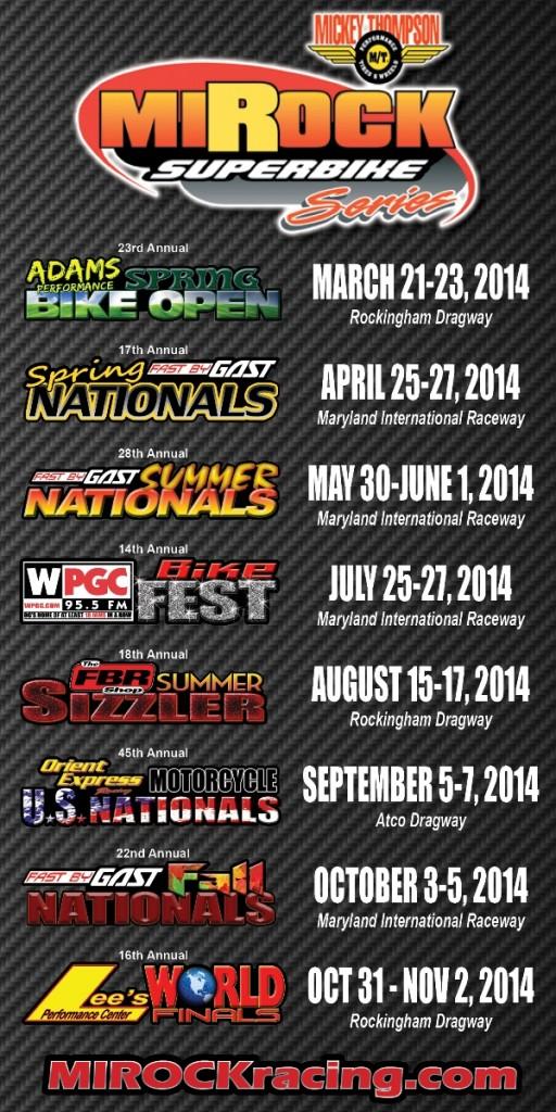 MIROCK Schedule 2014