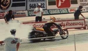 Tommy Bolton Funny Bike Burnout