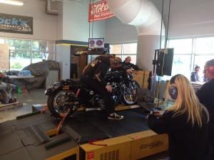 98 inch Harley Dyno