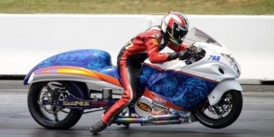 Penske Drag Racing Shock from Schnitz Racing   Dragbike News