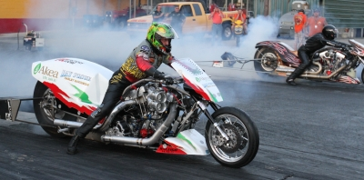 World's Quickest and Fastest Harley Dragbikes at The Rock This