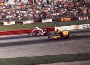 Ron Teson Dragbike Racing