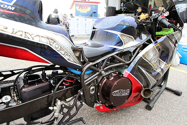 Dme Locks Out Top 4 Pro Street Dragbike Spots At The Rock