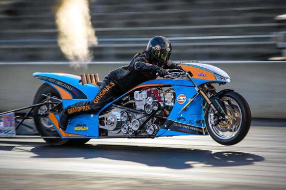 Valdosta Was A Fairytale Weekend For Top Fuel Motorcycle Racer Ian