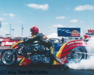 Jim McClure Nitro Harley
