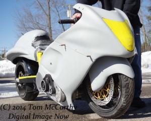 Supercharged Pro Street Dragbike, Tony Ficher