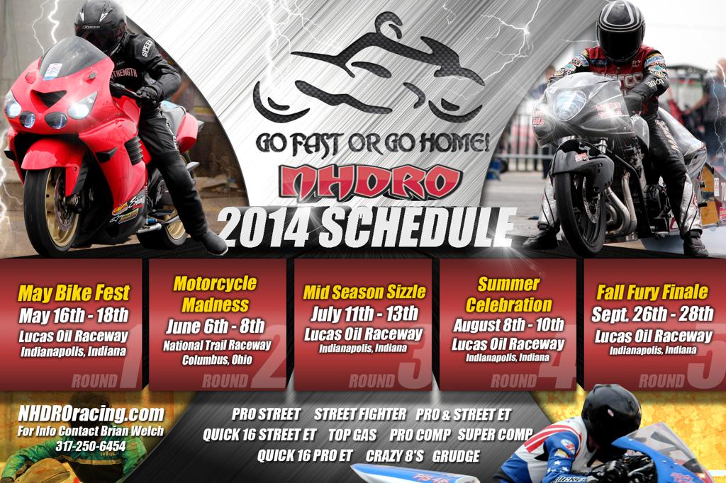NHDRO 2014 Schedule