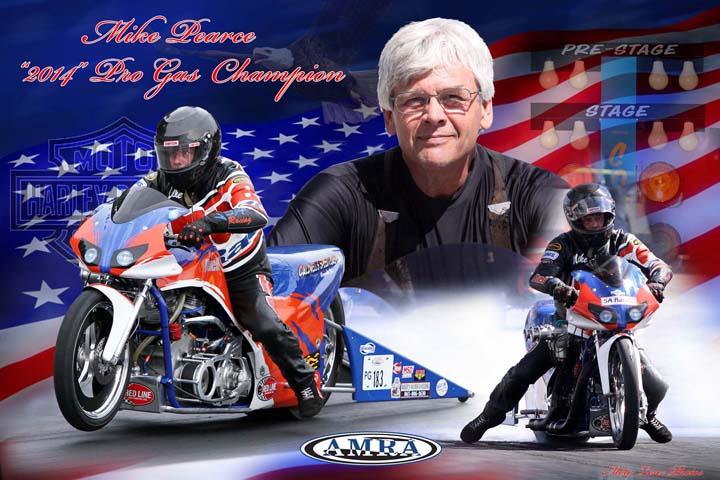 Mike Pearce AMRA 2014 CHAMPION