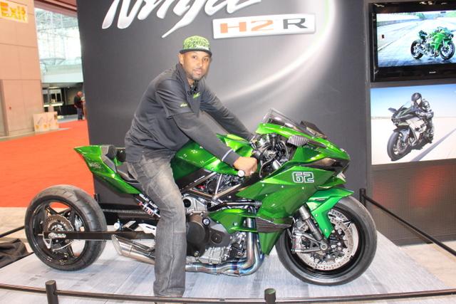 Rickey Gadson, Kawasaki H2-R