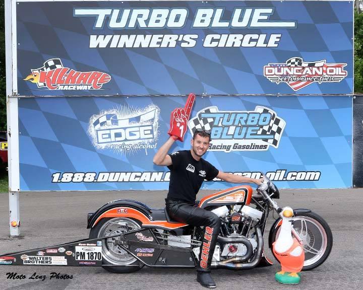 Ryan Oehler Winner Circle