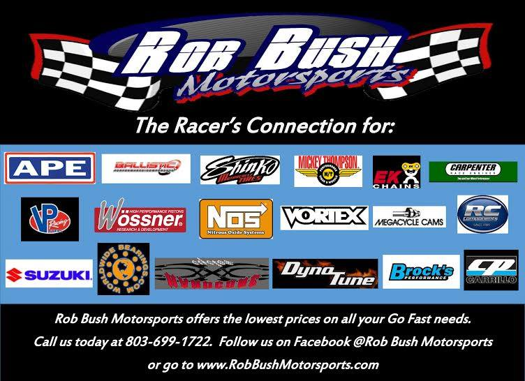 Rob Bush Motorsports Offering Discounts for ManCup ...
