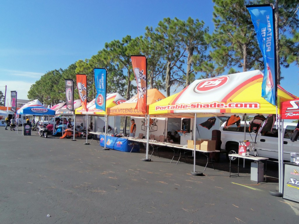 Portable Race Awnings : Protect your operation with an amazing professional look