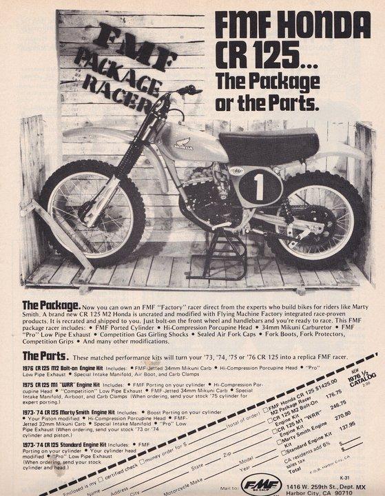 FMF Vintage Ad