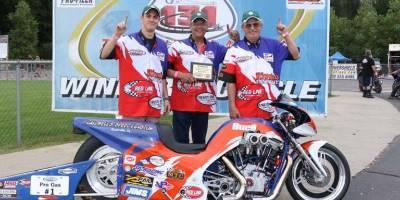 Mike Pearce winner circle