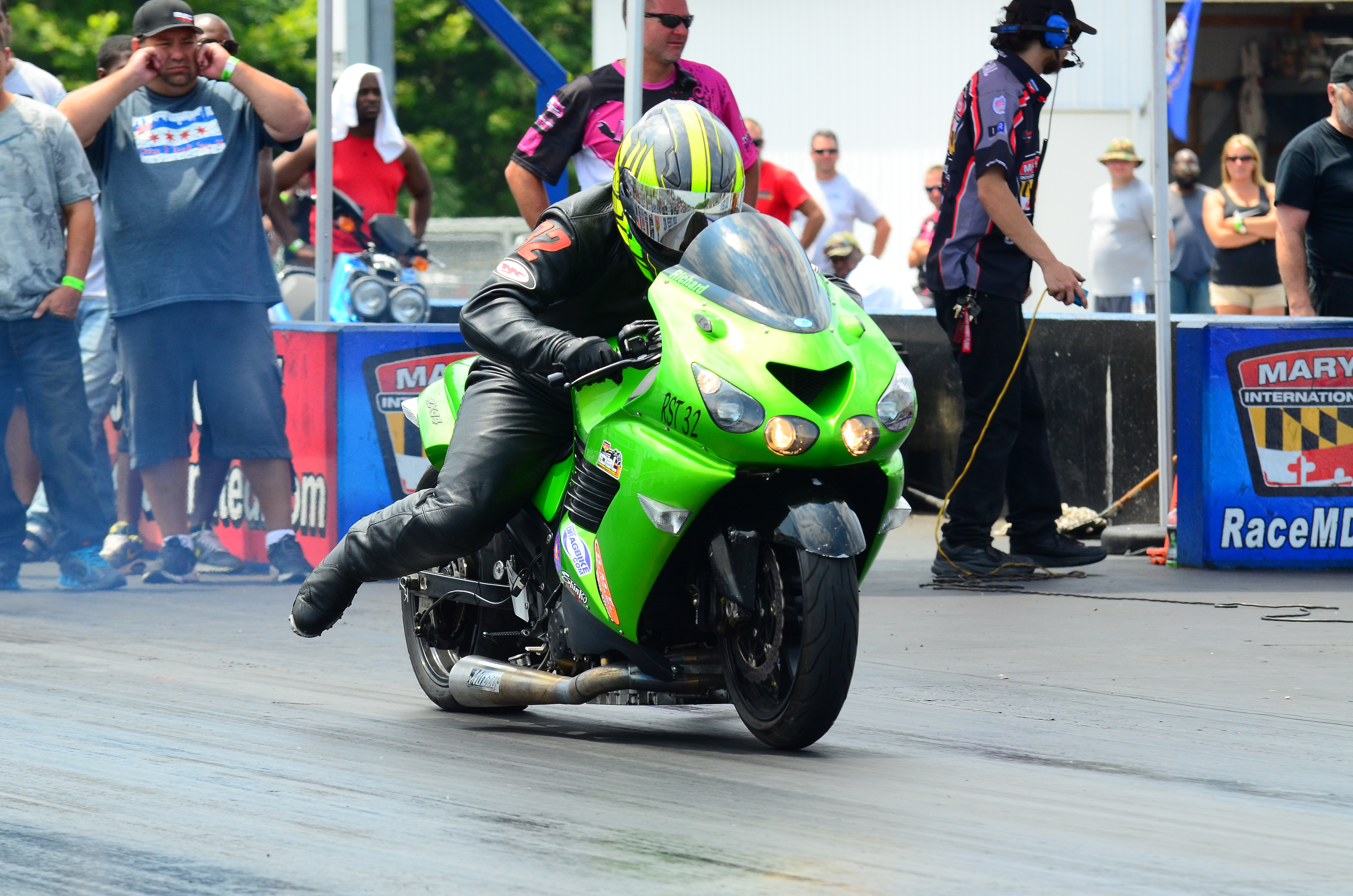 """Inaugural Dragbike All Star Shootout is a """"Go"""" at Maryland"""