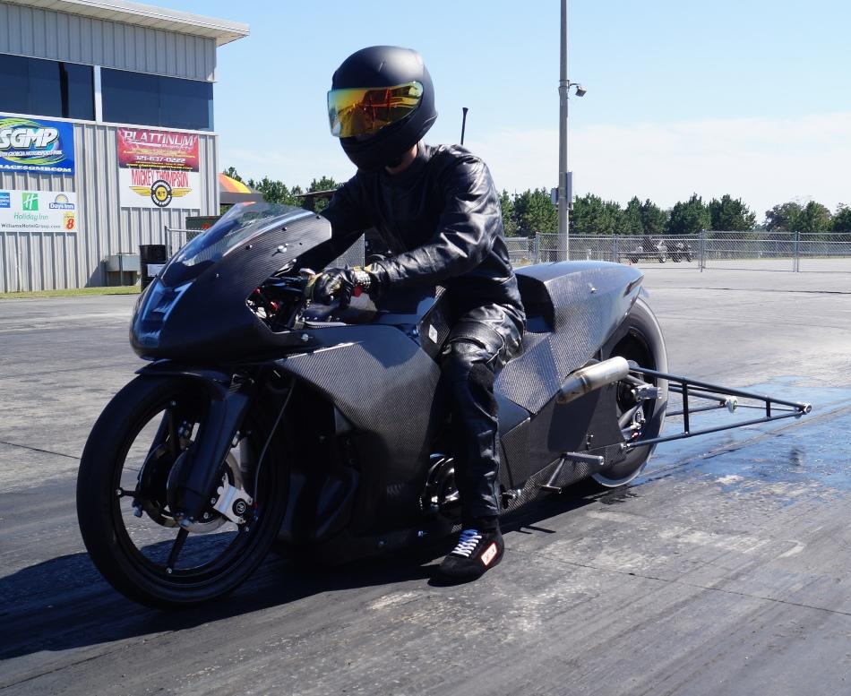 Cory Reed Bike EBR Testing