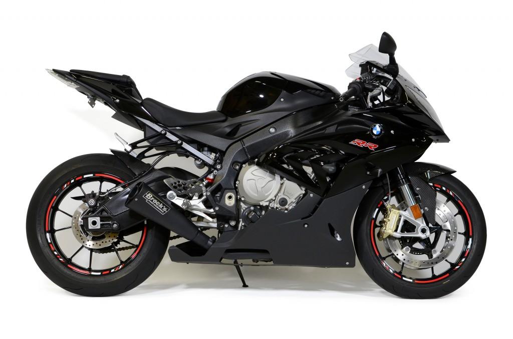 Brock's BMW Alien Head Exhaust - black