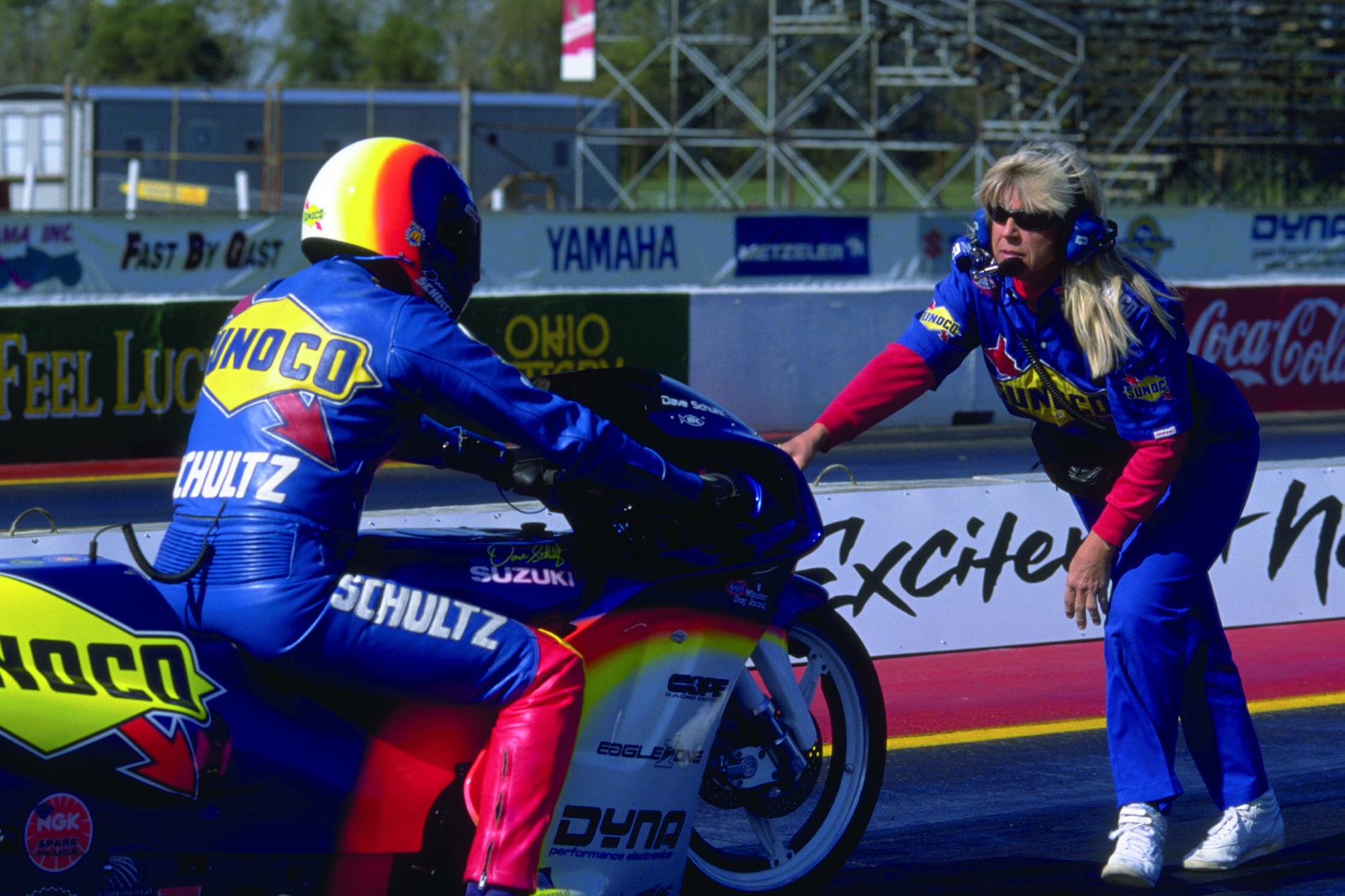Kosman racing products - Dave Schultz Meredith Schultz