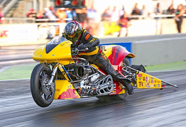 Dave Vantine - Top Fuel Motorcycle