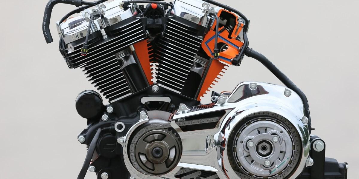 The Milwaukee-Eight Harley-Davidson Engine
