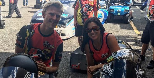 Cory Reed and Angelle Sampey