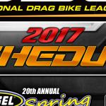 IDBL 2017 Schedule