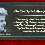 Elmer Trett Plaque