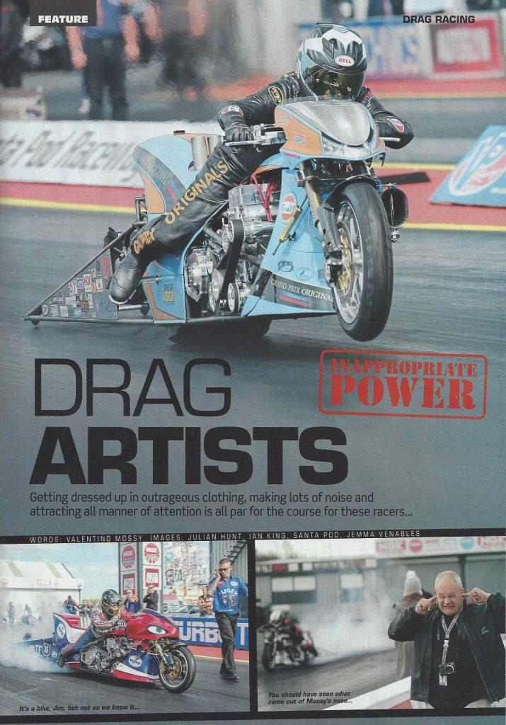 Fast Bikes Magazine, Ian King