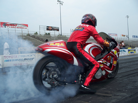 Dimey Eddinger in 60-Inch Pro Sportbike