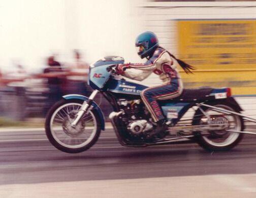 Vicki Farr, Dragbike Racing