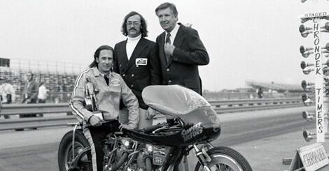 Roy Strawn with T.C. Christenson and Wally Parks