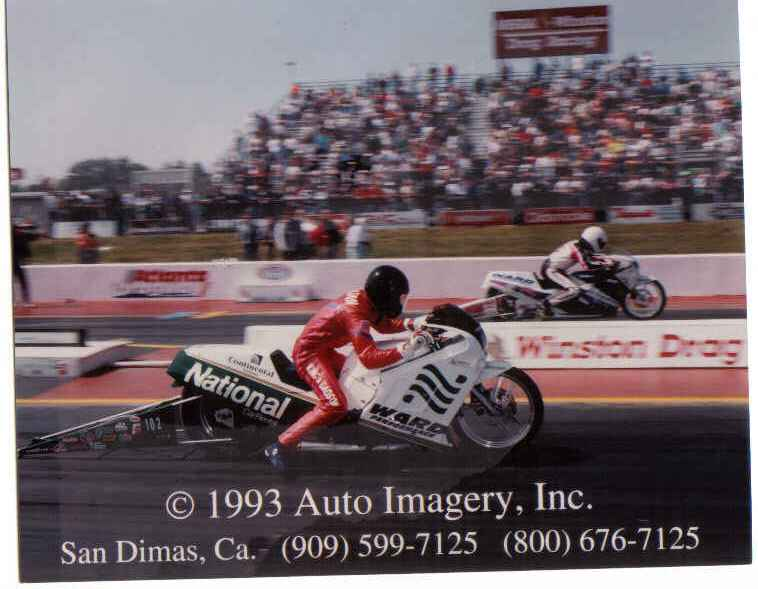 Rickey Gadson 1993 NHRA Pro stock debut ATL