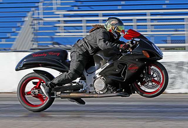 """Grudge bike """"Bloody Mary"""" looks for Big Air"""